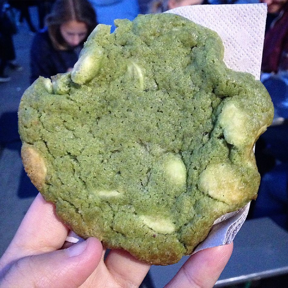 Food Porn Awards matcha white chocolate cookie!!! 🍪❤️