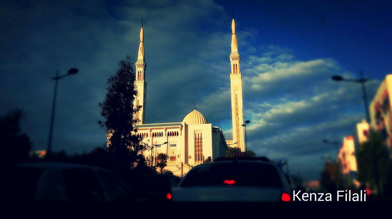 Algeria Algerian Algérie Constantine Muslim Islam Evening Mosque Mosqée Pray Prayer