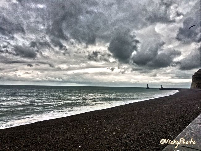 Paysage Landscape French Playa Relaxing Photography France Seine Maritime Normandie France Haute-Normandie Normandy