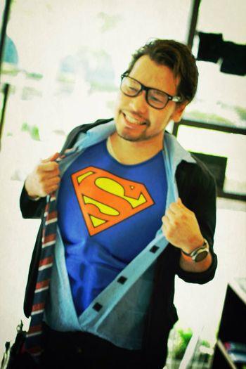 スーパーマン笑