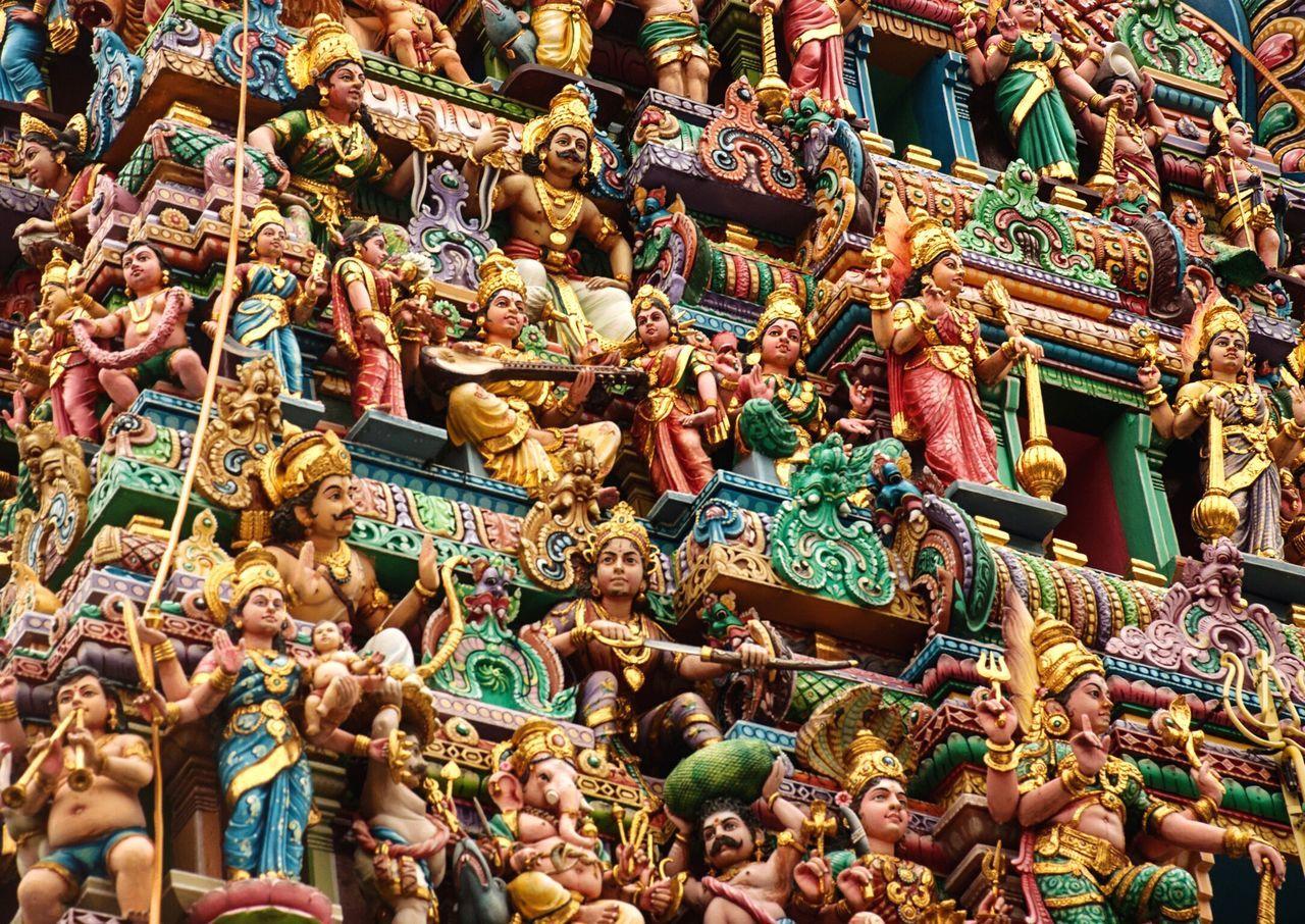 Sri Veeramakaliamman Temple 🙏🏻 Religion Sculpture Statue Multi Colored Tradition Spirituality Day Outdoors Nautical Vessel No People Sri Veeramakaliamman Temple Hindu (null)Singapore Sri Veeramakaliamman Temple EyeEm Selects