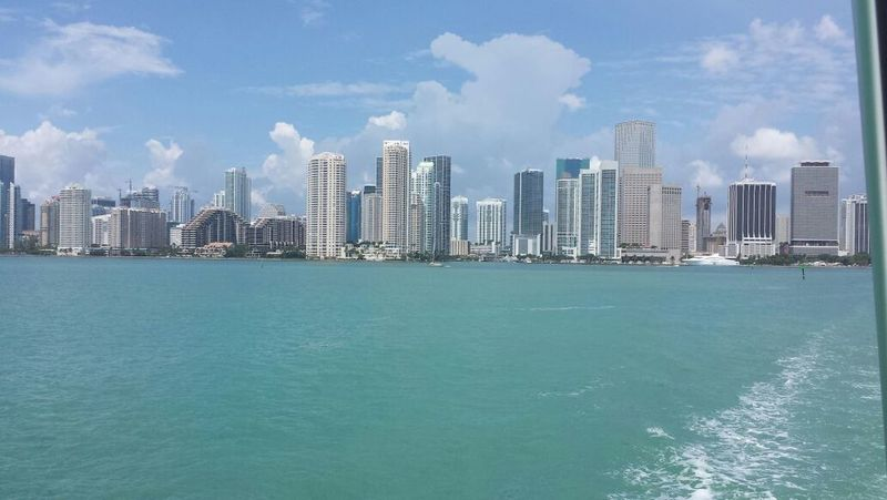 Miami Skyline Summer Sun Inlovewiththiscity