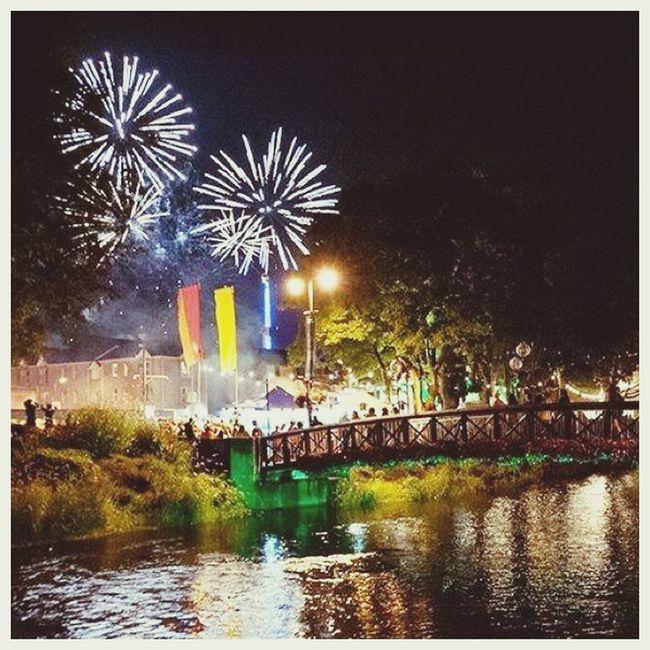 Fireworks for closing fleadh 2015
