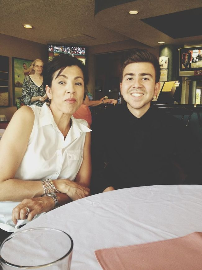 Madre And Me :)