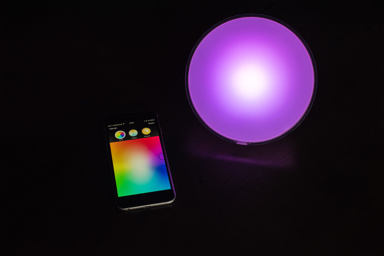 App Huế Illuminated IPhone Lamp Light Philips Smart Home Smartphone