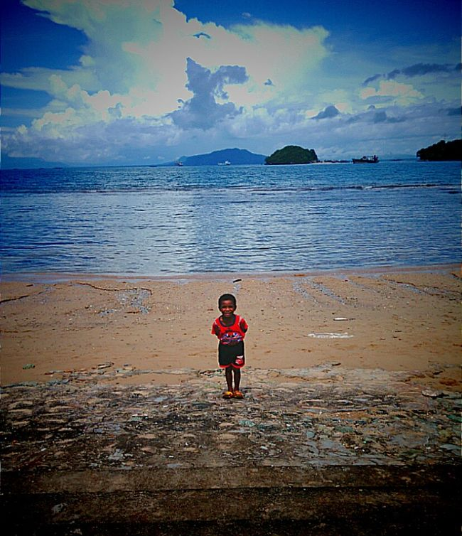 People And Places My New Friend Littleboy Jayapura Papua Indonesia