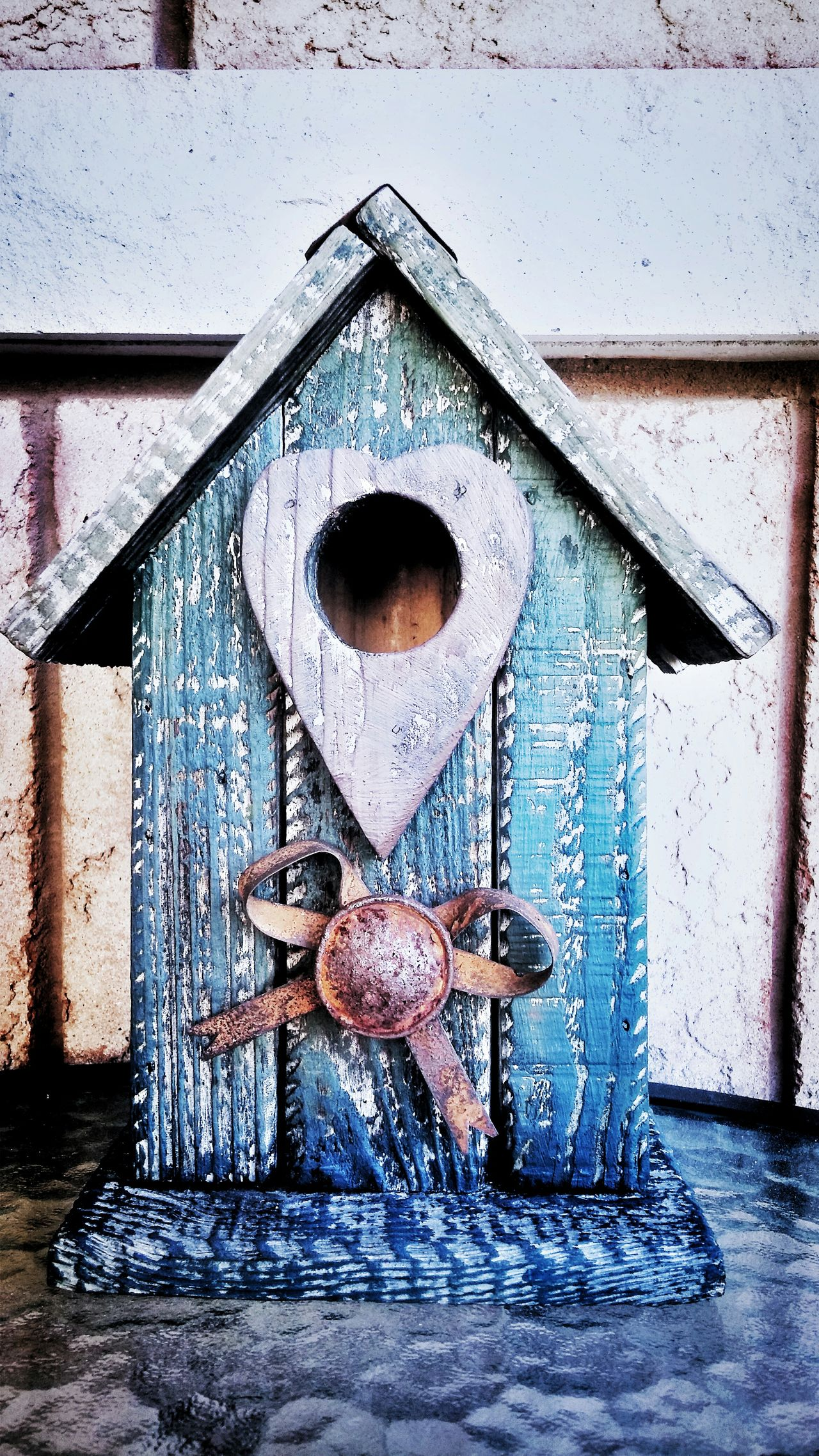 Birdhouse No People Close-up Woodwork  Wood - Material Heart Shape Outdoors HomeSweetHome🏠 Bird Home Simplecraft