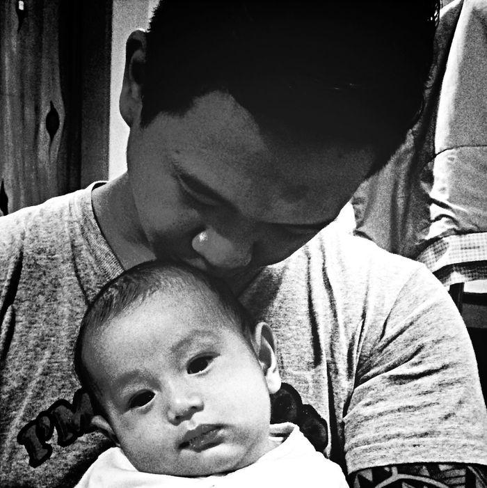Blackandwhite Father & Son Richenjeyq