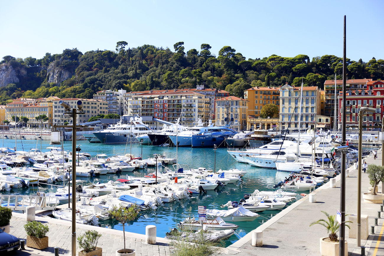 Azur France Harbor Limpia Nautical Vessel Night No People Outdoors Sailboat Sea Sky Traveling Water