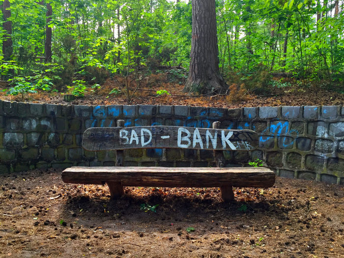 take a seat Bad Bank Bank Bench Bench Forest Have A Seat Have A Seat & Relax Leaves Nature Outdoors Park Seat Seat Bench Take A Break Take A Seat Text Tree Trees