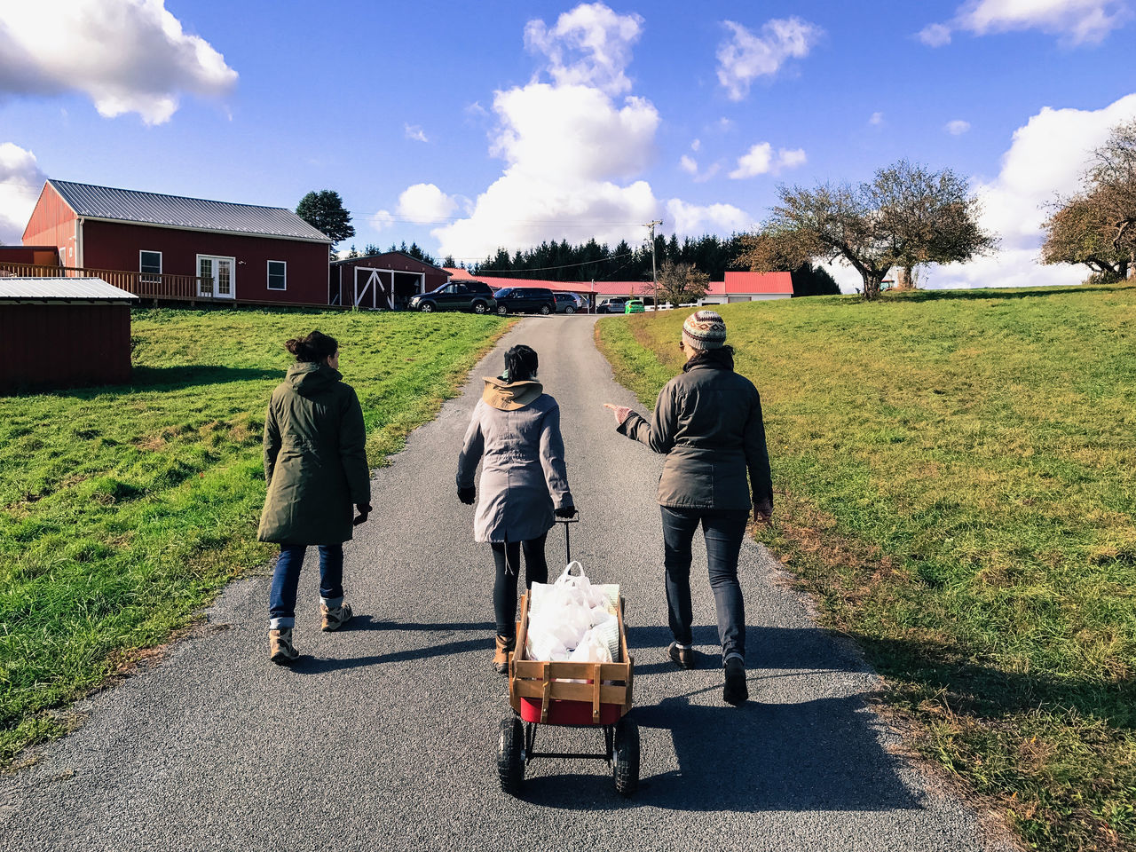 Apple picking in the Catskills, New York, USA. Photo by Tom Bland. Agriculture Apple Picking Autumn Autumnal Fall Farm Friends Friendship IPhone IPhoneography Lifestyle New York Orchard Orchards Outdoors Rural Seasonal Seasonal Fruit Thirties Women