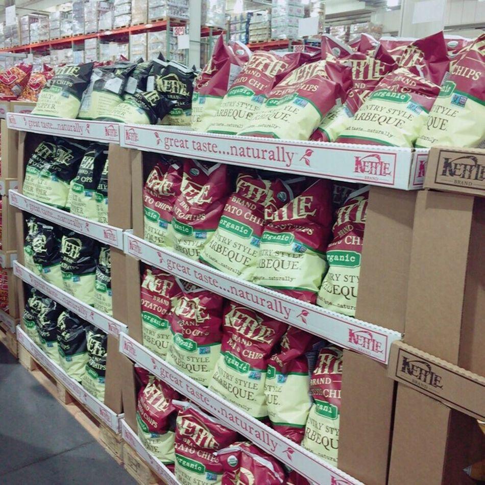 Potato Chips BIG American Costco