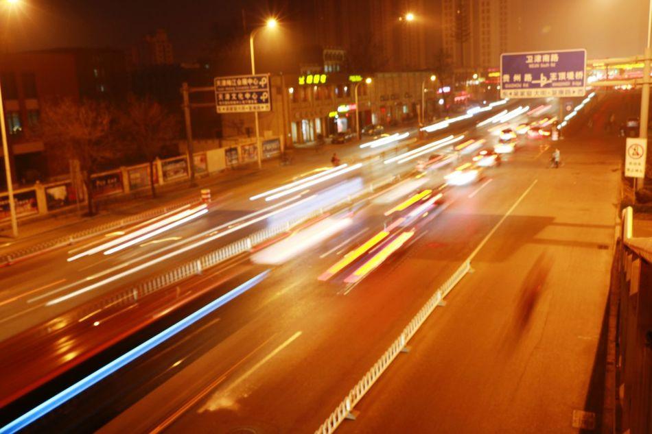 夜色 风景 傍晚 光影 意境 一角 速度