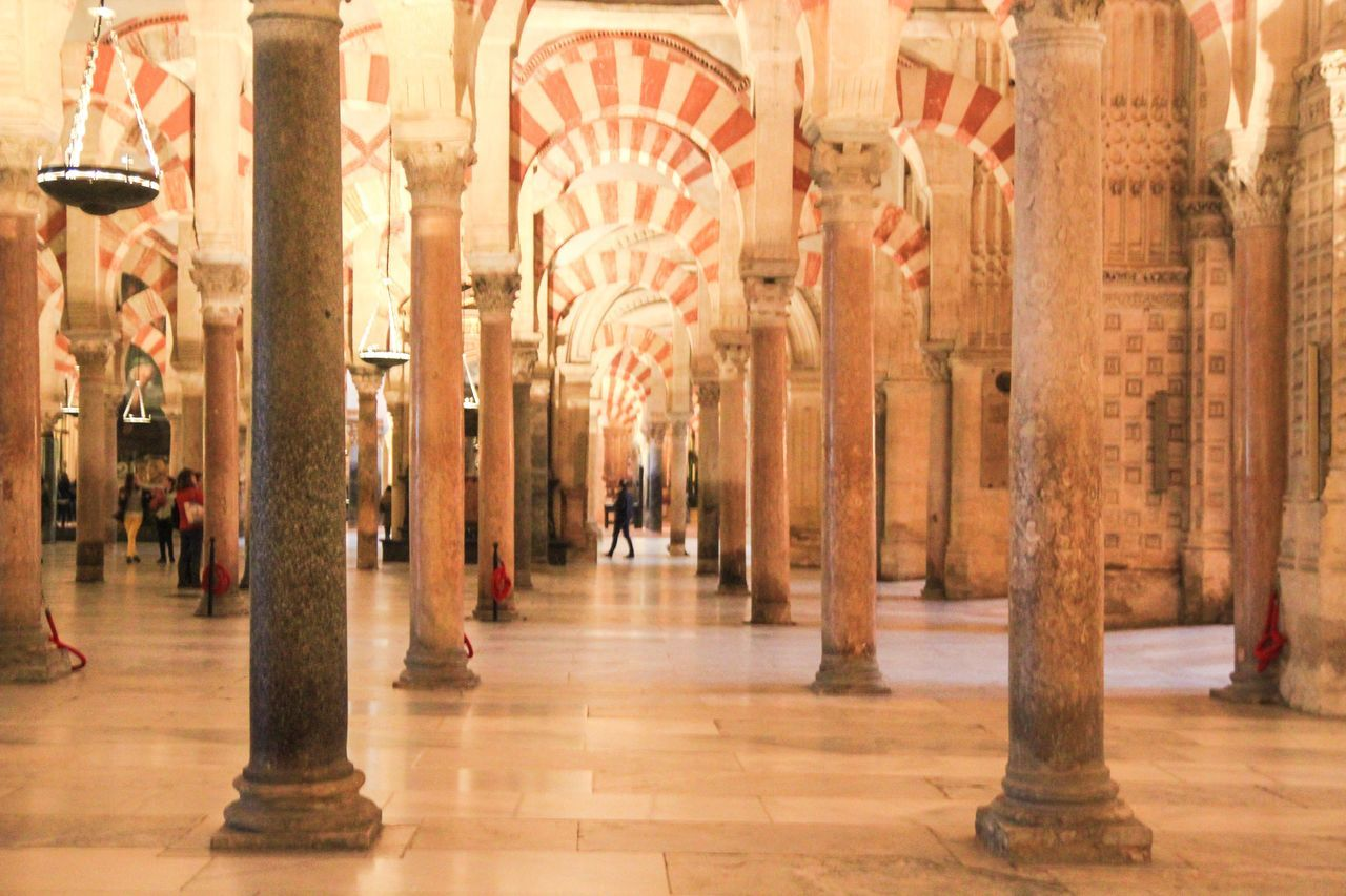 Architectural Column Architecture Built Structure City Córdoba Day History Indoors  People Tourism Travel Destinations