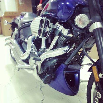 Kuryakyn pro-Hypercharger Cobra swept exhaust YamahaWarrior1700 InstaMotorcycles InstaBikes InstaYamaha IRide