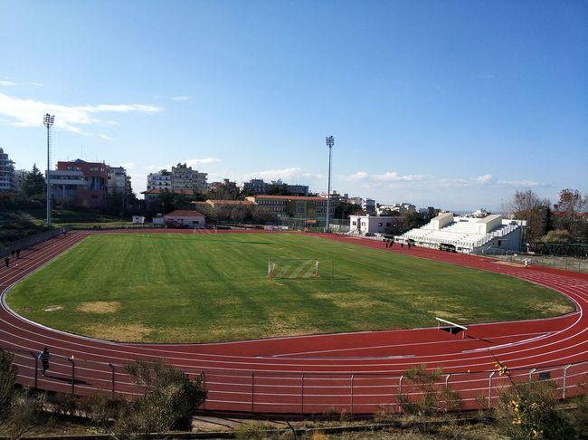 Sky Grass Baseball - Sport No People Outdoors Day Soccer Field