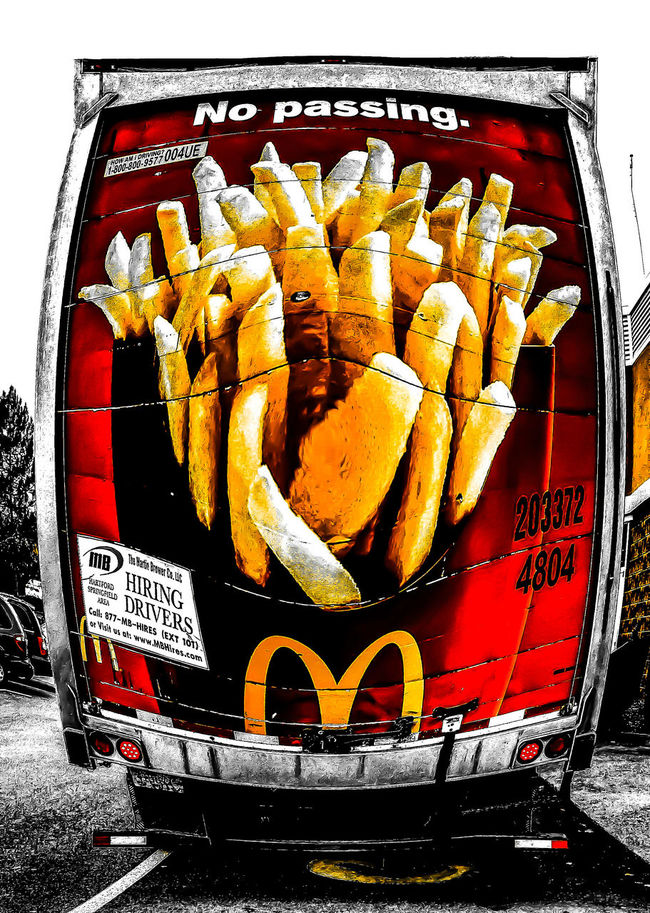 We all love French Fries. Eye4photograghy Getting Inspired Popart Kunst Foodporn not good for us but they do taste good.