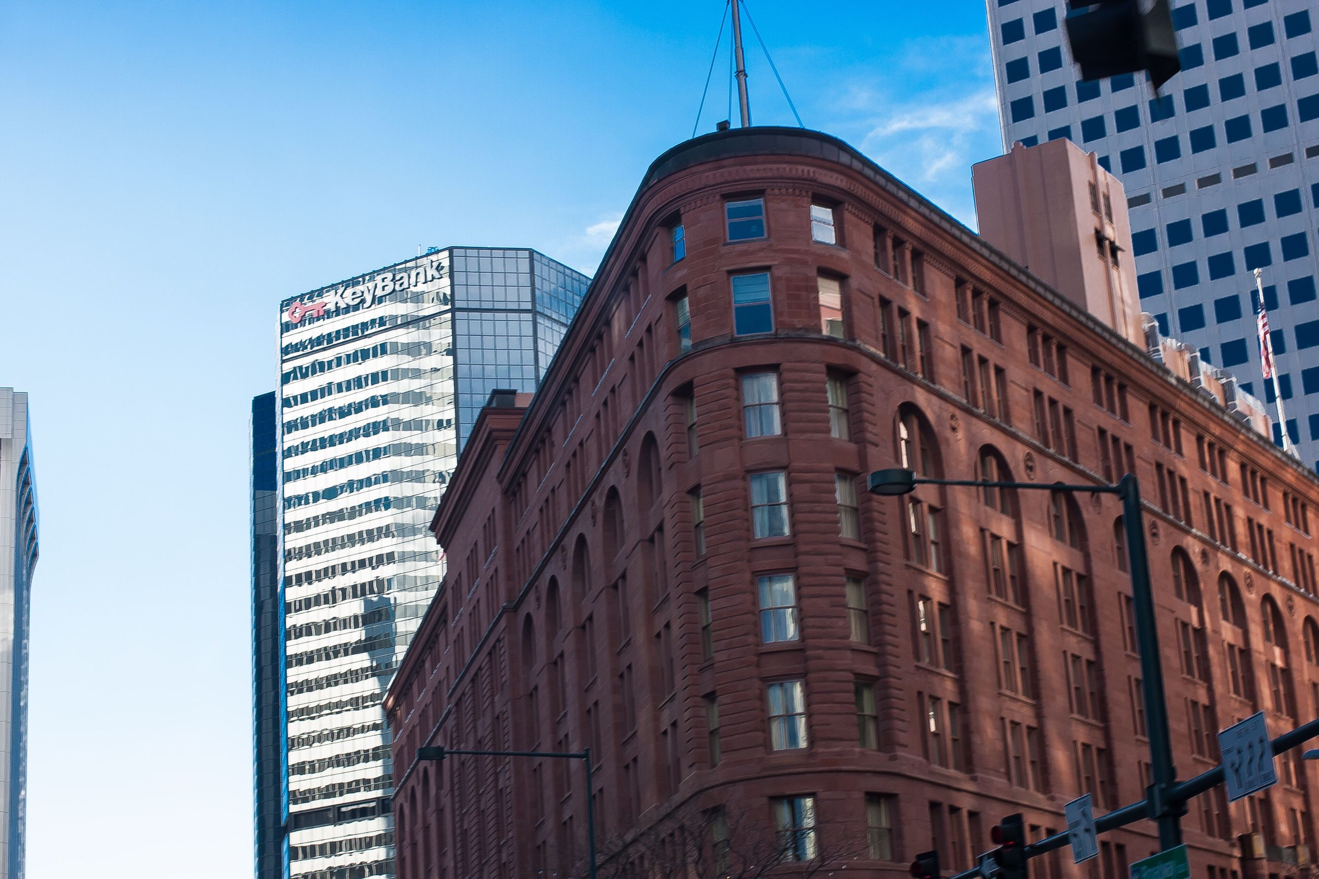 architecture, low angle view, building exterior, built structure, skyscraper, modern, city, no people, tower, outdoors, sky, day