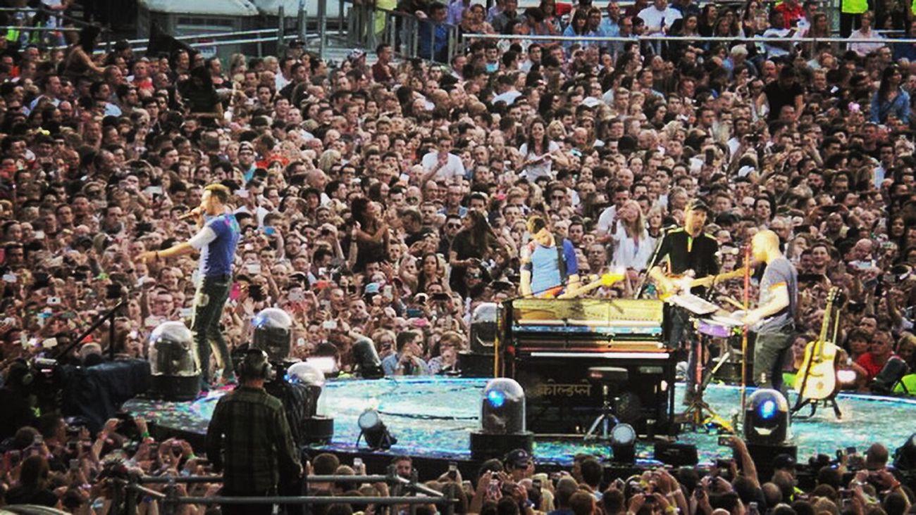 Scotland Birthday Present Hampden Coldplay Concert  The Mix Up
