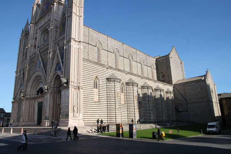 Orvieto, Italy Travel Travel Photography Traveling Architecture Building Exterior Built Structure City Clear Sky Day Italian Italy Large Group Of People Modern Orvieto Outdoors People Sky Tourism Travel Destinations