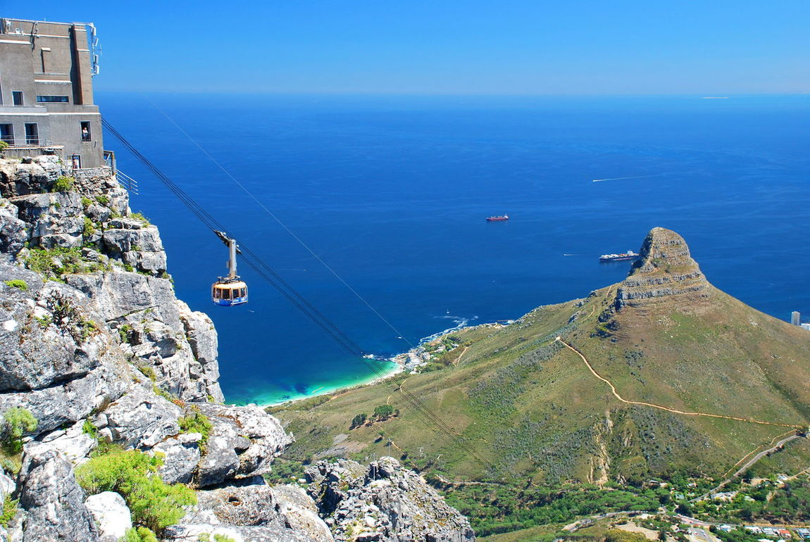 Table Mountain cableway. Cape Town, South Africa Africa African African Beauty Cableway Cape Town Capetown South Africa Eyeem South Africa Global EyeEm Adventure - Cape Town I Love Cape Town Landscape Landscape_photography Lion's Head Ocean View Oceanside South Africa South African Table Mountain Tourism Malaysia Travel Travel Photography Travelphotography The KIOMI Collection The Great Outdoors With Adobe The Great Outdoors - 2016 EyeEm Awards Let's Go Together