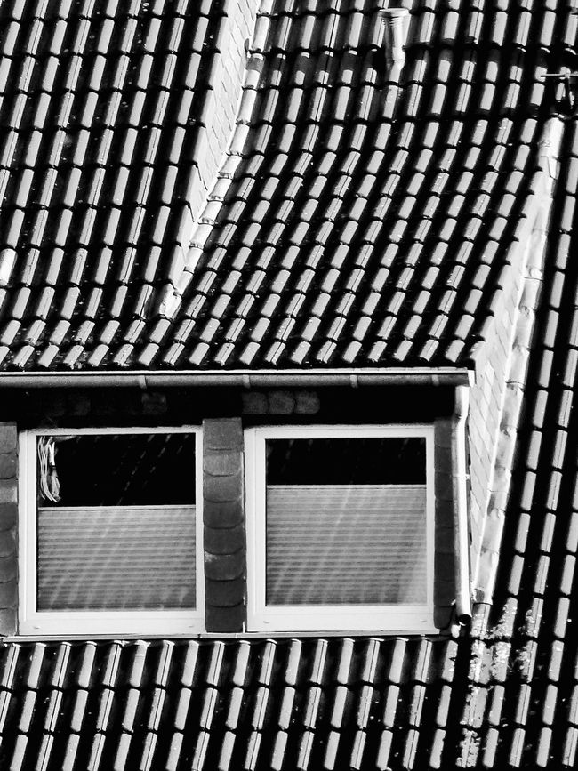 No People Pattern Day Built Structure Outdoors Architecture Window Kripp Windows Monochrome Photograhy