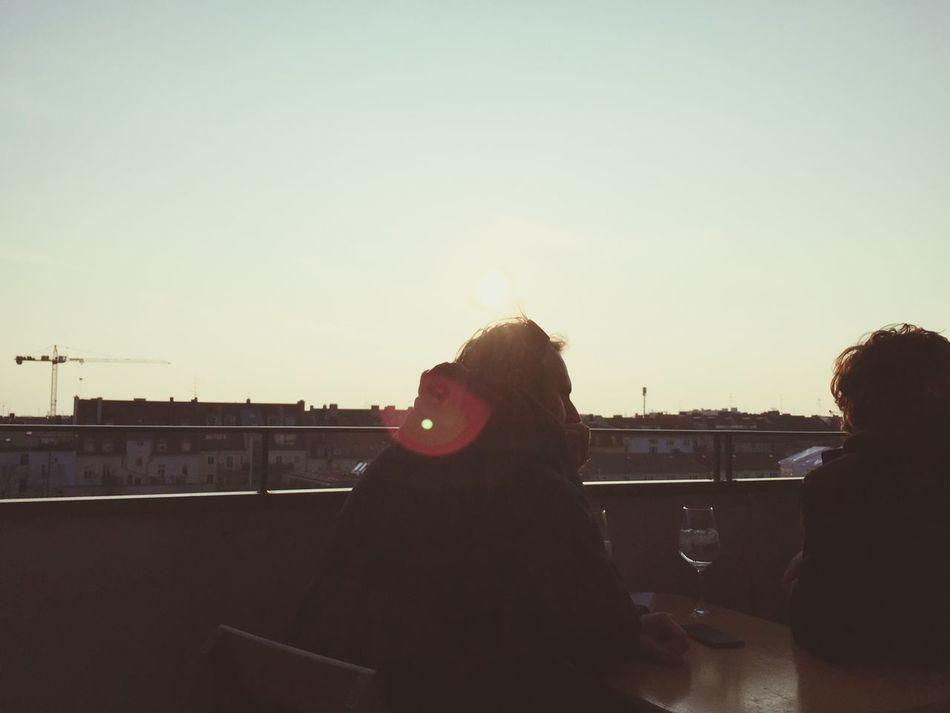 Soaking Up The Sun Sky Colors Sun