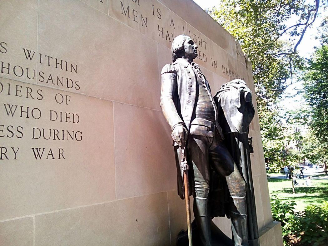 Noble George Washington Statue History Historic American History