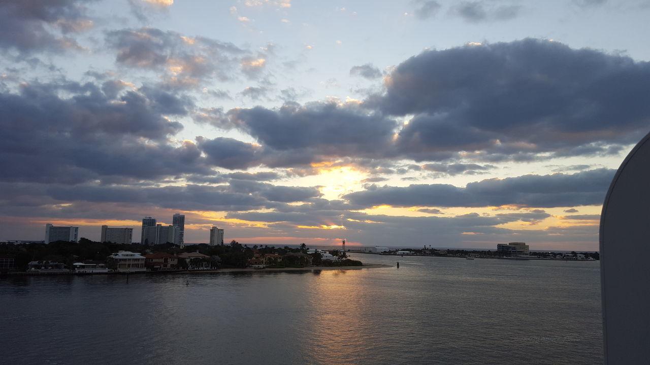 Port Everglades Florida Travel Destinations Sky