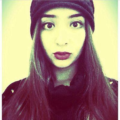 Selfie Just Me Me Hair Redlipstick Eyeliner Lip