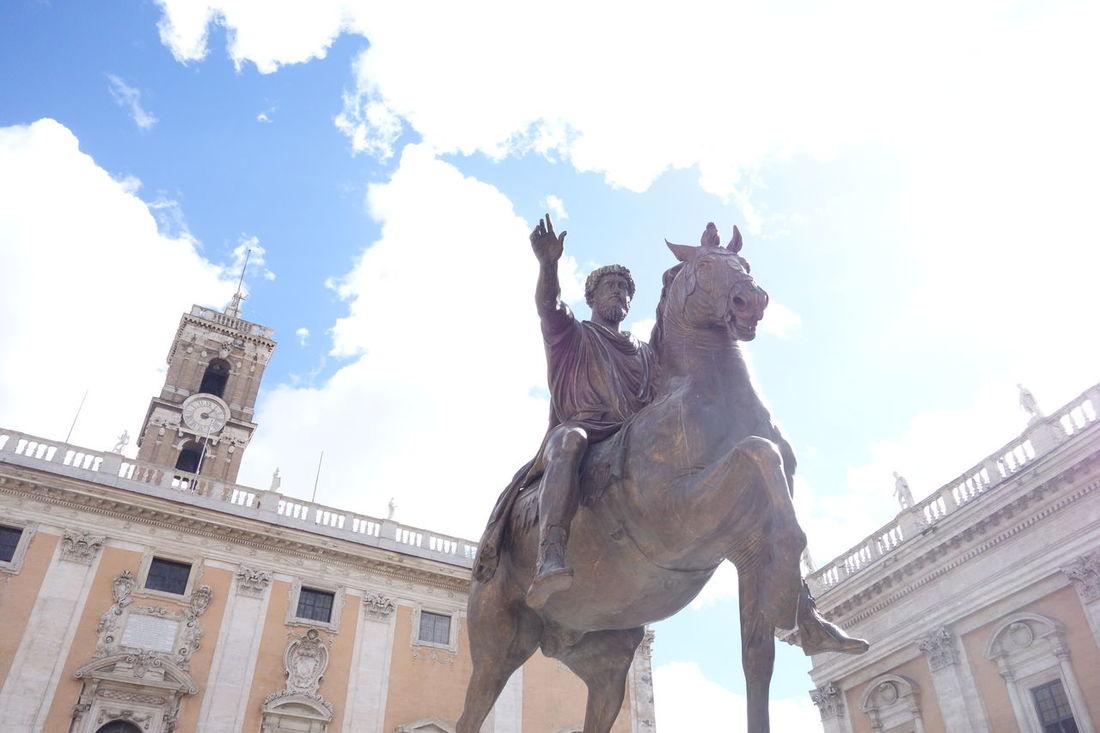 Capitolini Famous Place Historic History Musei Capitolini Museum Rome Statue