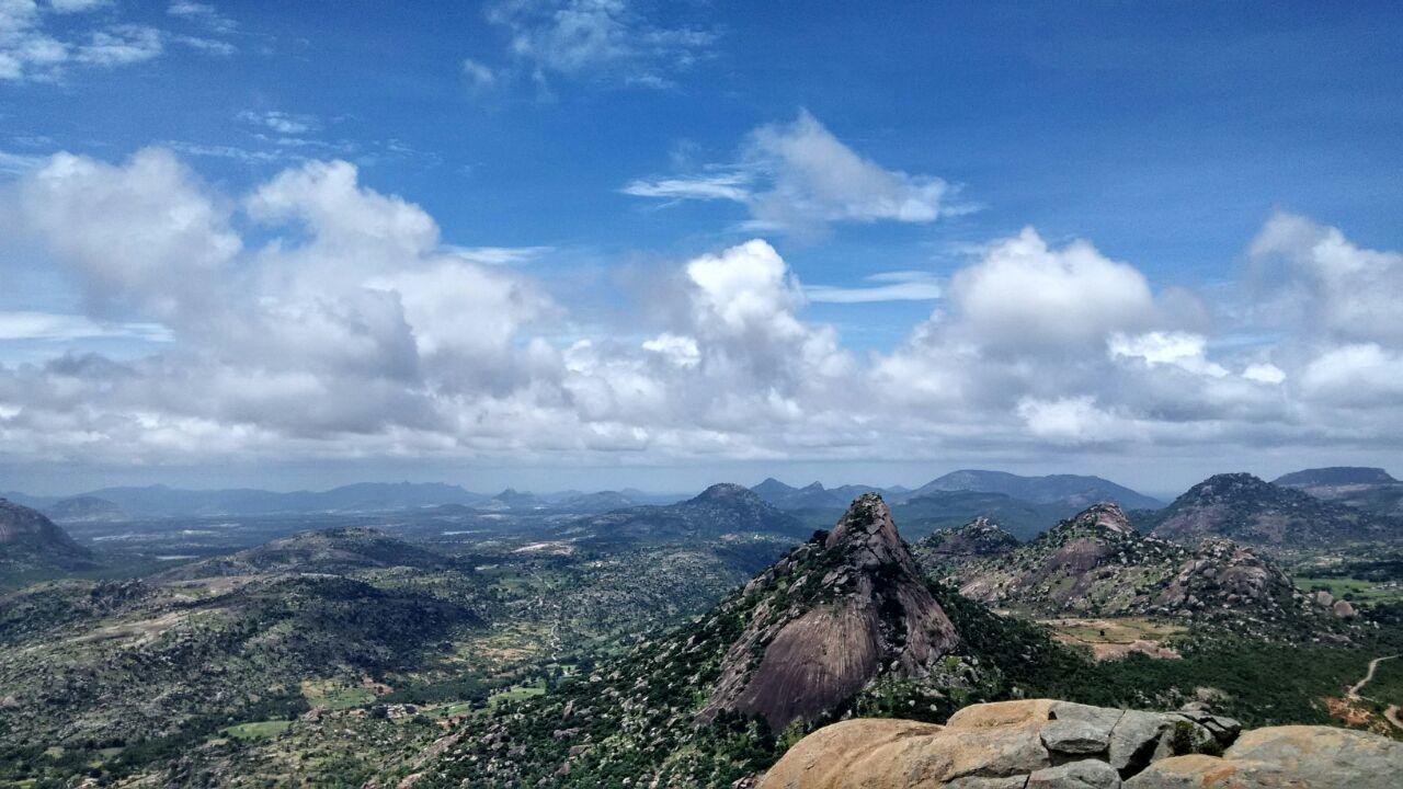Original NoEffects  Landscape Mountains Madhugiritrek First Eyeem Photo