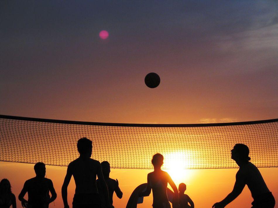 Beautiful stock photos of strand, Activity, Beach, Beach Volleyball, Boys
