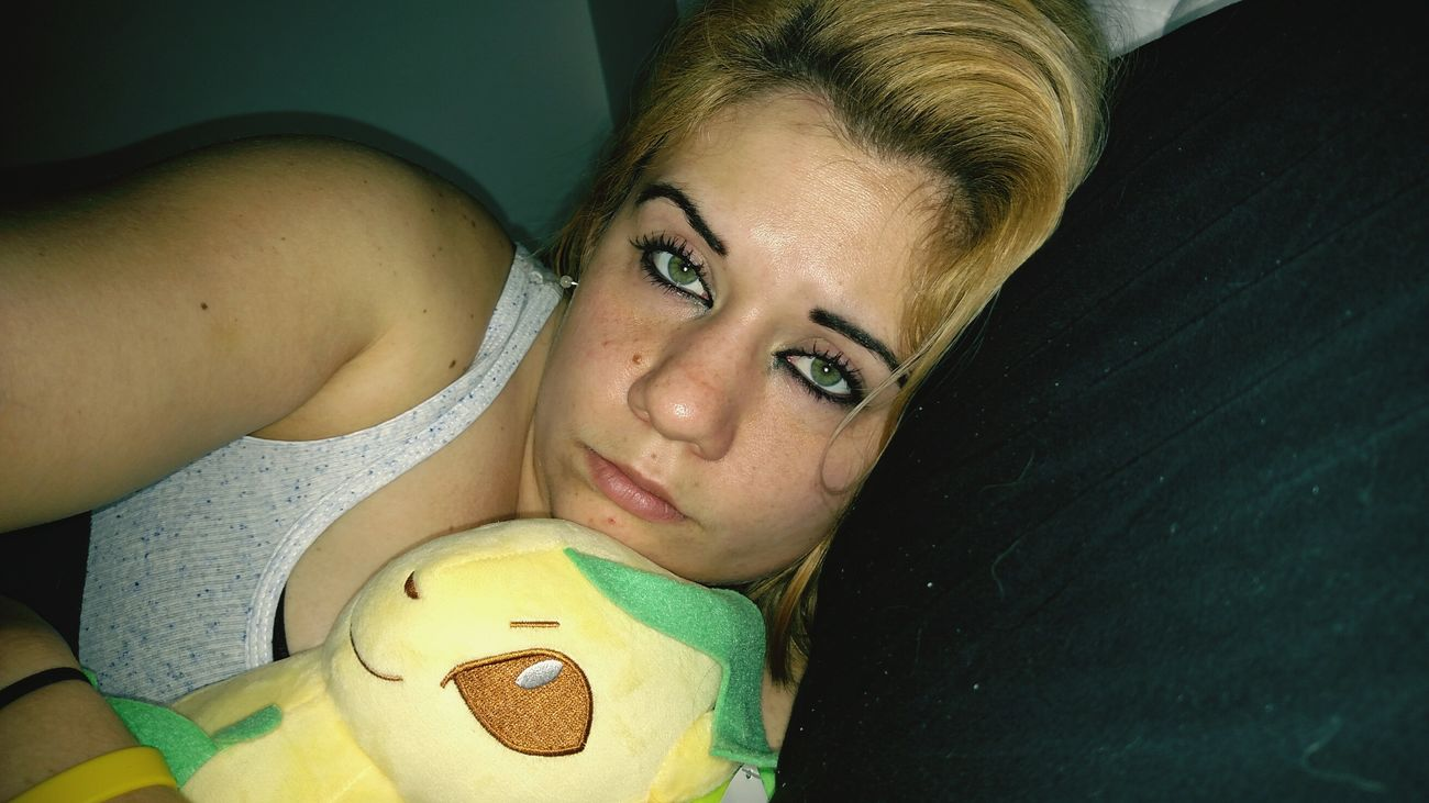 Just me and my Leafeon Pokémon Eevee Eeveelutions