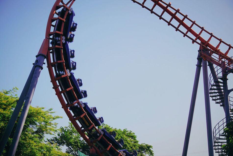 Beautiful stock photos of roller coaster, Amusement Park Ride, Arts Culture And Entertainment, Built Structure, Child
