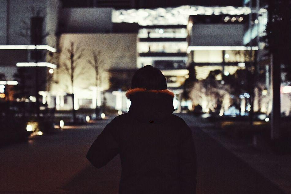 Winter Night Nightphotography Light Japan City Citylights
