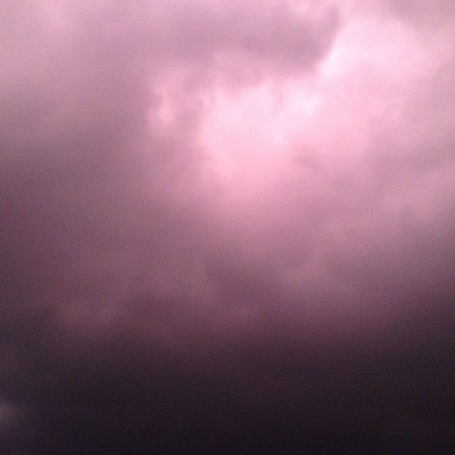 This is how the sky is looking Zombieapocalypse