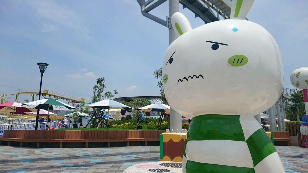 熱到兔兔也翻臉😅 Taking Photos Hanging Out Check This Out Relaxing Enjoying Life Sunny Sunny Day Sunny☀ Sunnyday☀️ Good Afternoon