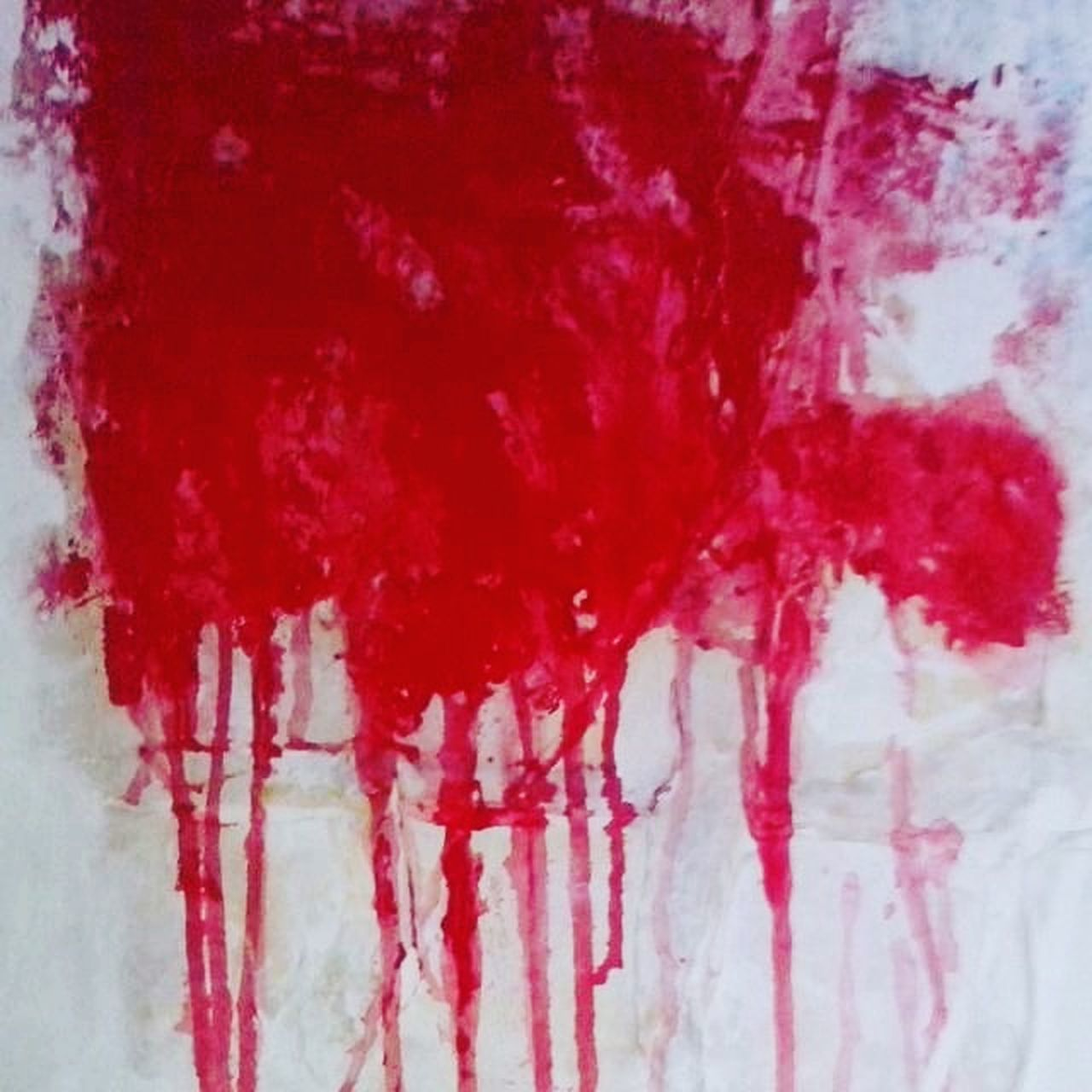 Red Paint Textured  Abstract Backgrounds No People Abstract Art Abstractions In Colors Acrylic Acrylic Painting Expressionism