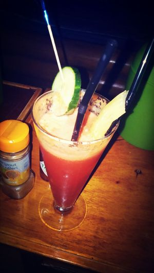 Bloody Mary Drinks Cocktail :) Having Fun After Exams