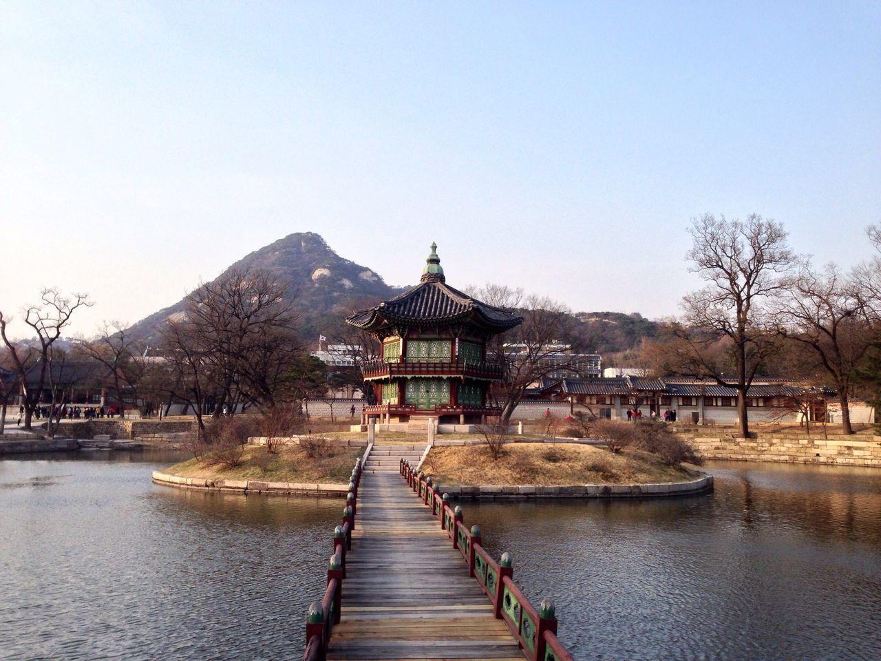 Gyeongbokgung Palace, Seoul Seoul Traveling South Korea Lake Reflection Culture History
