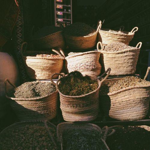 Marrakech Souks Market Morocco