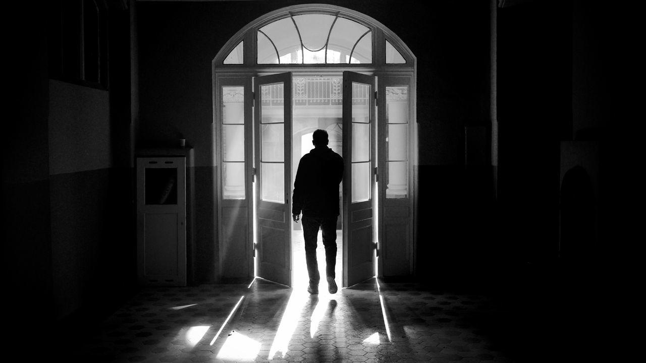 Abandoned Beelitz Beelitz Heilstätten Door Doorway Go2know Light And Shadow Lostplaces Mystery Reflections Urbex Window