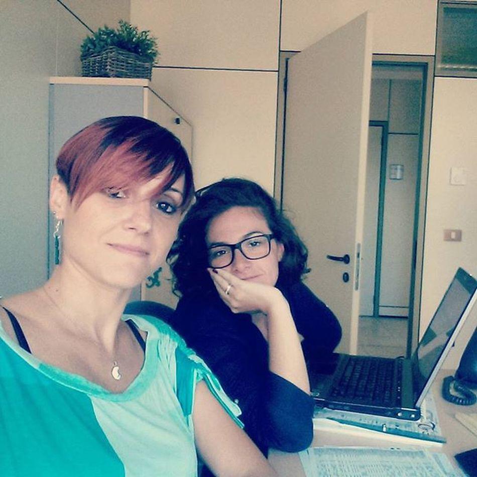 Lavoro di equipe, selfie di equipe 😏😂😂💪