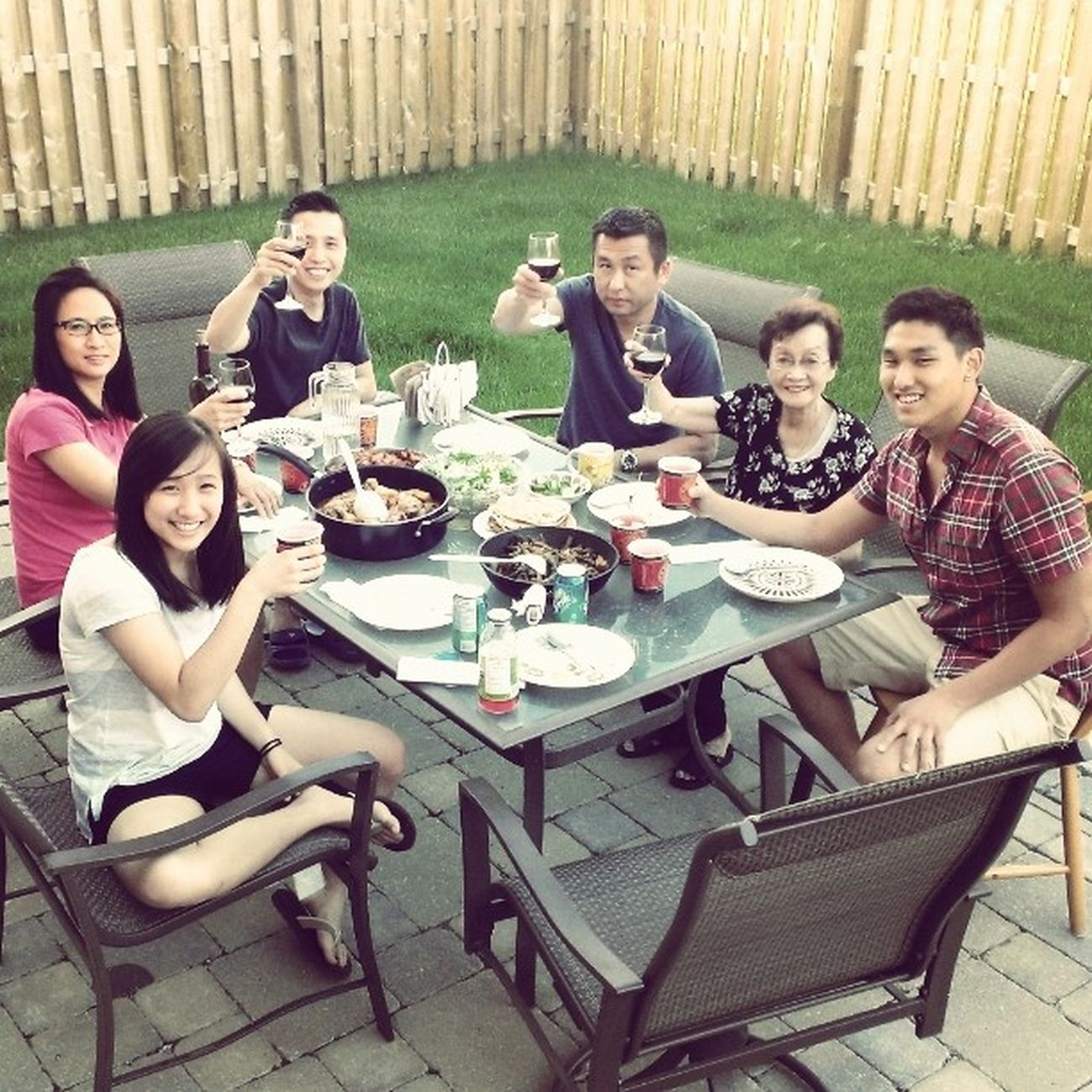 Weekend family gathering, so fun. Dinner Family Fun Reunion  Lovethemsomuch
