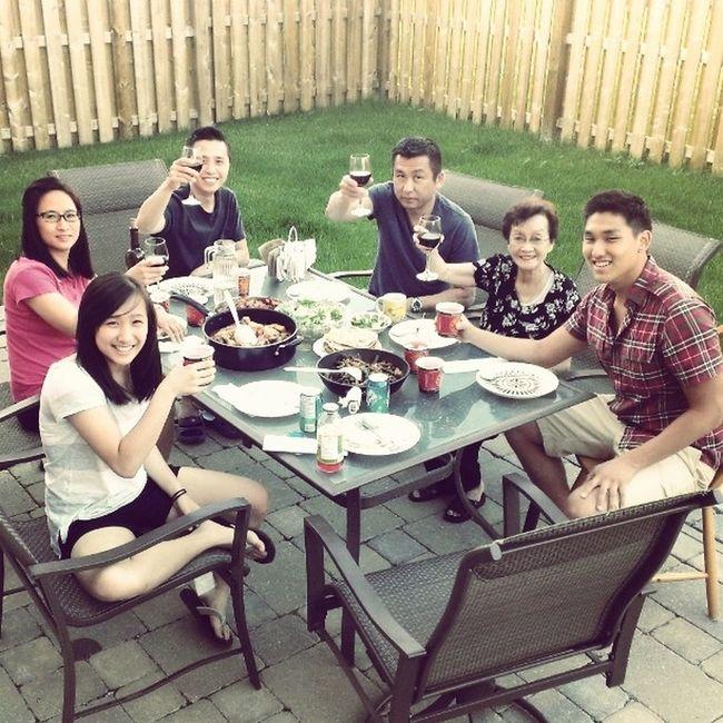 Weekend family gathering, so fun. Dinner Family Fun Reunion  Lovethemsomuch