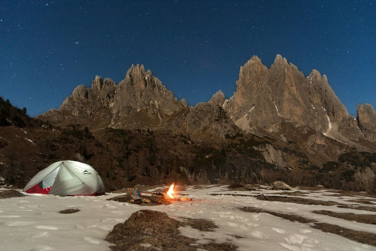 A campfire and a room with a view!😎 Star - Space Adventure Beauty In Nature Sky Nature Night Outdoors Mountain No People EyeEm Best Shots Tranquility EyeEm Gallery Taking Photos Magic Places Dolomites, Italy Calm Enjoying Life Tent Life Getting Inspired Eye4photography  EyeEm Nature Lover Beautifulplace Italy Landscape Photography