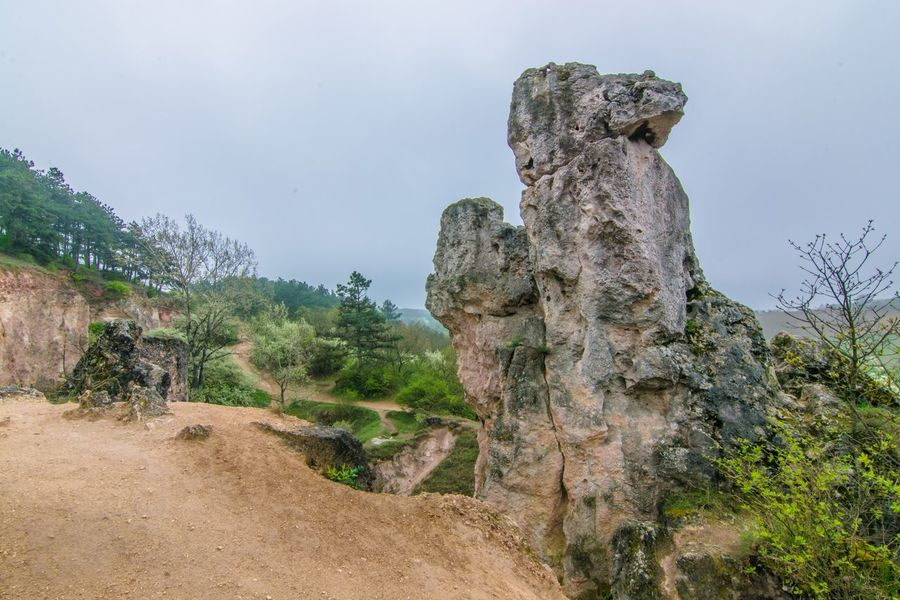 Rock Kéktúra Hiking Pilis Hungary Nature Camel