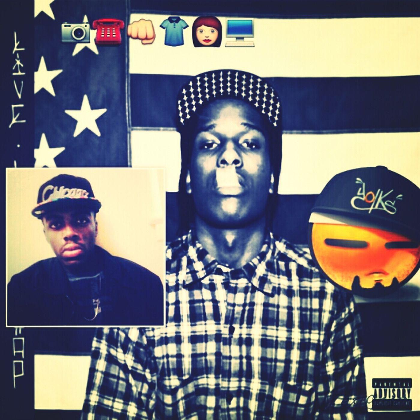 #Rocking that LIVE LOVE A$AP Mixtape