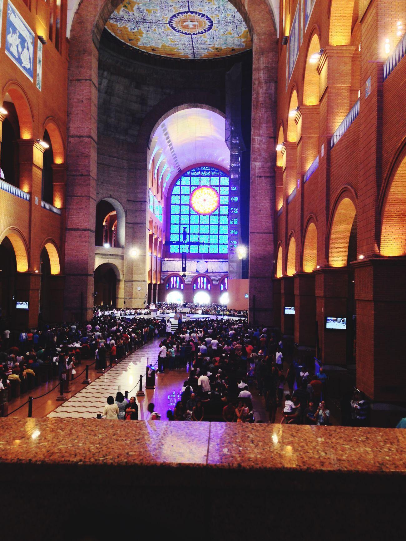 Basílica de Nossa Senhora Aparecida Basilica Basilic Igreja First Eyeem Photo